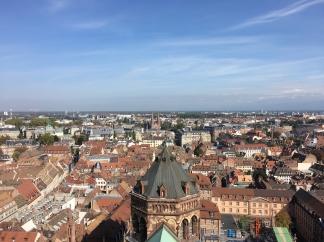 Aussicht vom Liebfrauenmünster zu Straßburg