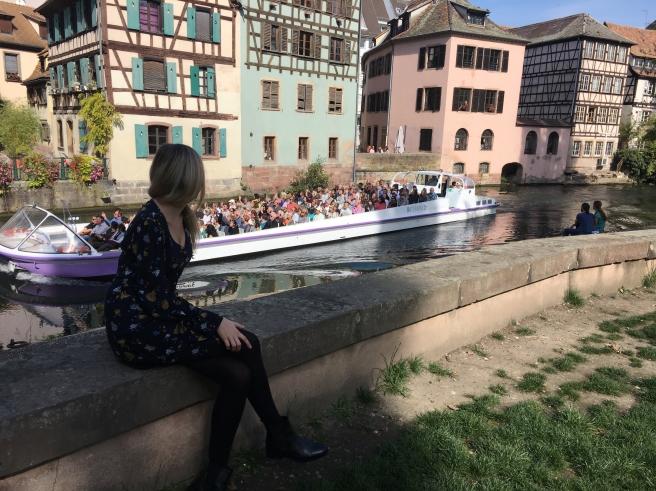 Mit Straßburger Bootstour im Hintergrund