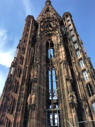 Turm des Liebfrauenmünsters zu Straßburg /