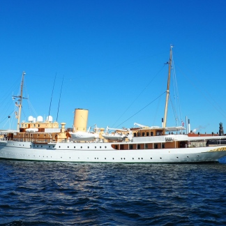 Royal Yacht Dannebrog.